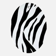 Zebra Adressbuch Oval Ornament