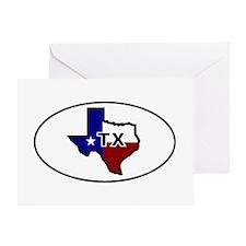 TX - Texas Greeting Card