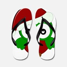 Christmas Owl Flip Flops