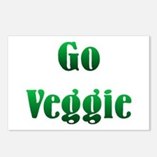 Go Veggie Postcards (Package of 8)