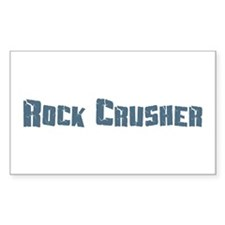 Rock Crusher Rectangle Decal