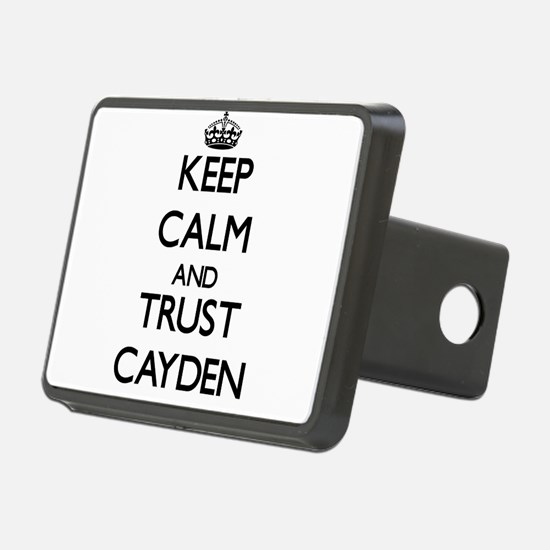 Keep Calm and TRUST Cayden Hitch Cover