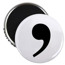 Commas saves lives Magnet