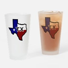 TX - Texas Drinking Glass