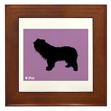 Sheepdog iPet Framed Tile