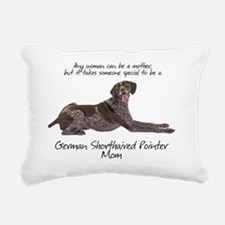 Pointer Mom Rectangular Canvas Pillow