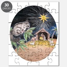 At the Manger Puzzle