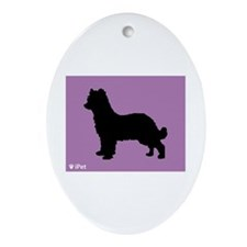 Pyrenean iPet Oval Ornament