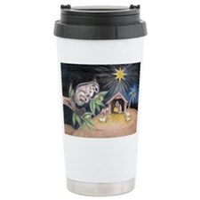 At the Manger Travel Mug