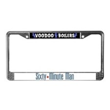 Sixty-Minute Man License Plate Frame