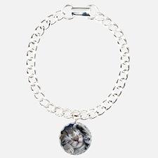 Sleeping Kitten Bracelet