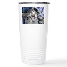 Sleeping Kitten Travel Mug