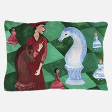 Red Queen to the Rescue Pillow Case