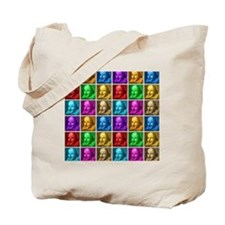 shakespeare-pop-art-incognita-gelmouse Tote Bag