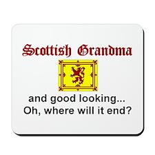 Scottish Grandma-Good Lkg Mousepad