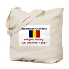 Romanian Grandma-Good Lkg Tote Bag