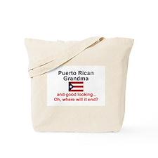 Puerto Rican Grandma-GdLkg Tote Bag