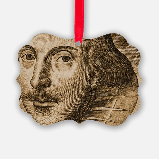 Droeshouts Shakespeare Ornament