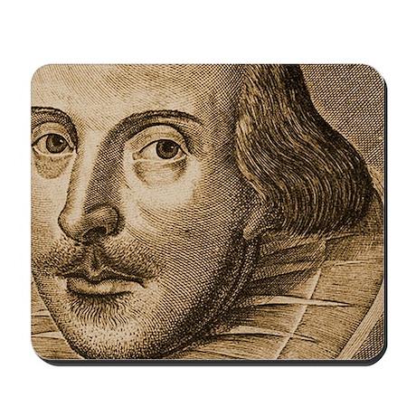 Droeshouts Shakespeare Mousepad