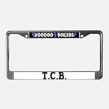 T.C.B. License Plate Frame