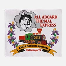 2012 National Specialty Logo Throw Blanket