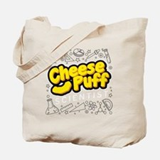 Cheese Puff Scientist Tote Bag