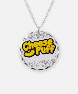Cheese Puff Scientist Necklace