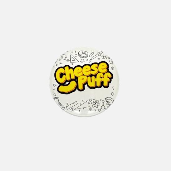 Cheese Puff Scientist Mini Button
