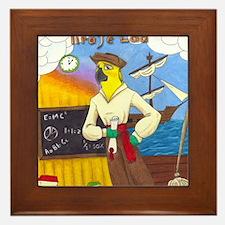 Pirate Lad Puzzle Framed Tile
