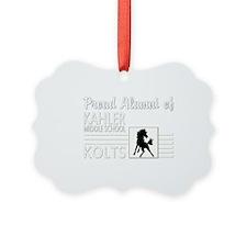 Kahler-Alumni_dark Ornament