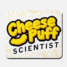 Cheese Puff Scientist Mousepad