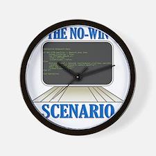 Kobayashi Maru Computer Program Wall Clock