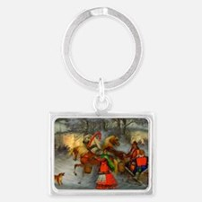 Let's Go For a Ride Landscape Keychain