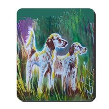 English Setters Mousepad