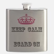 Keep calm ecard on Flask