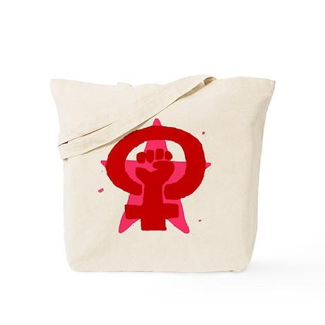 Socialist Feminist No Text Tote Bag