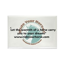 The Warmth of a Horse Rectangle Magnet (10 pack)