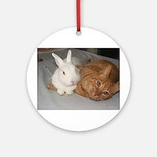 Bunny_Cat Ornament (Round)