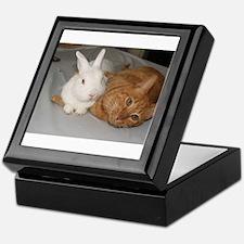 Bunny_Cat Keepsake Box
