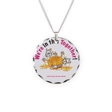 Wer'e In This Together Cats Necklace