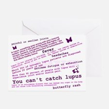 Lupus Facts Greeting Card