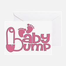 Baby Bump Greeting Card