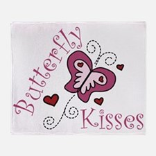 Butterfly Kisses Throw Blanket