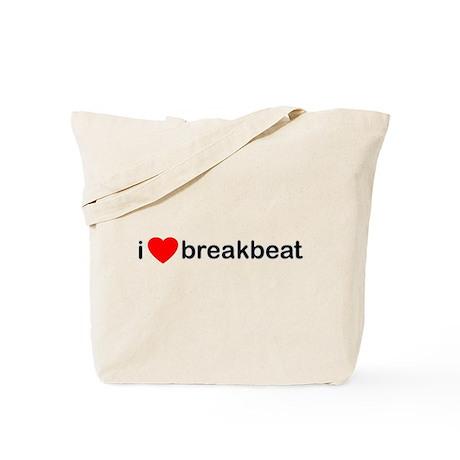 I Love Breakbeat Tote Bag