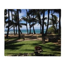 Maui Serenity Throw Blanket