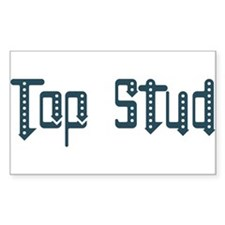 Top Stud Rectangle Decal