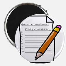 Greatest Accomplishments Magnet