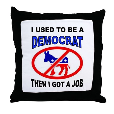GLOBAL WHINING Throw Pillow