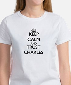 Keep Calm and TRUST Charles T-Shirt
