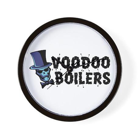 Voodoo Boilers Wall Clock